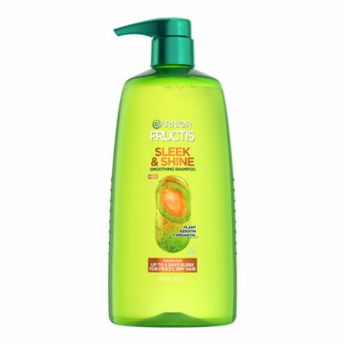 Garnier Fructis Sleek & Shine Shampoo Perspective: front