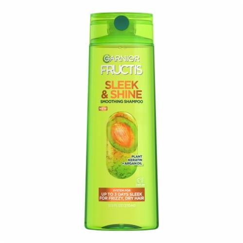 Garnier Fructis Sleek & Shine Paraben-Free Fortifying Shampoo Perspective: front