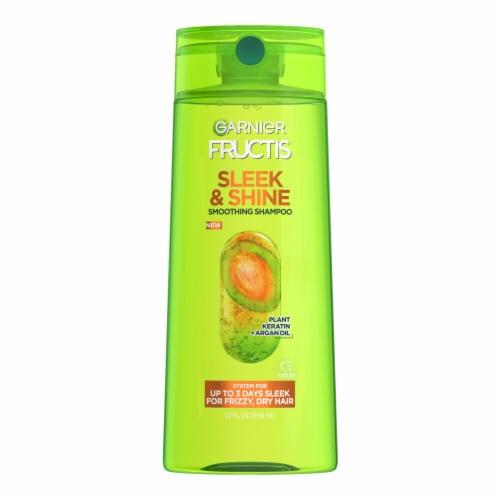 Garnier Fructis Sleek & Shine Fortifying Shampoo Perspective: front