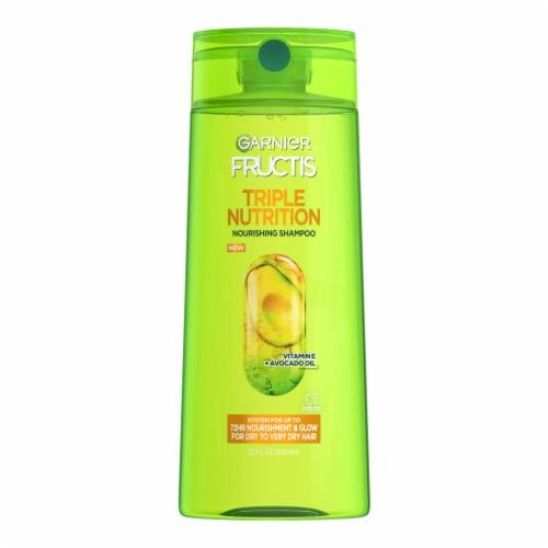 Garnier Fructis Triple Nutrition Shampoo Perspective: front