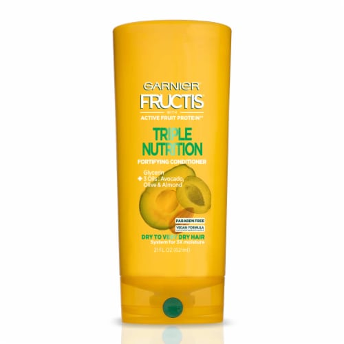 Garnier Fructis Triple Nutrition Fortifying Conditioner Perspective: front