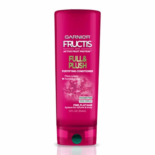 Garnier Fructis Full & Plush Pomegranate Fortifying Conditioner Perspective: front