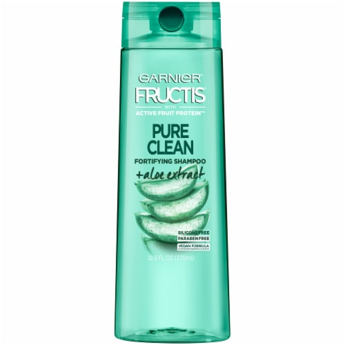Garnier Fructis Pure Clean Aloe Extract Fortifying Shampoo Perspective: front