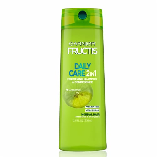 Garnier Fructis Daily Care 2-in-1 Grapefruit Fortifying Shampoo & Conditioner Perspective: front