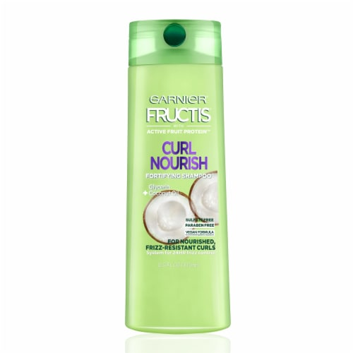 Garnier Fructis Triple Nutrition Curl Nourish Shampoo Perspective: front