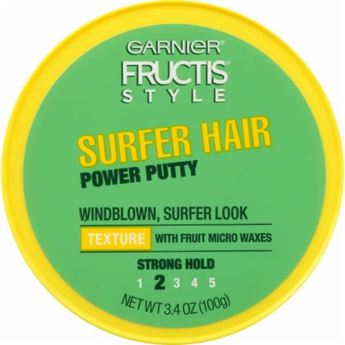 Garnier Fructis Style Surfer Hair Power Putty Perspective: front