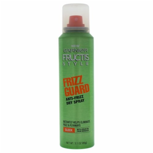 Garnier Fructis Style Frizz Guard AntiFrizz Dry Spray 3.1 oz Perspective: front