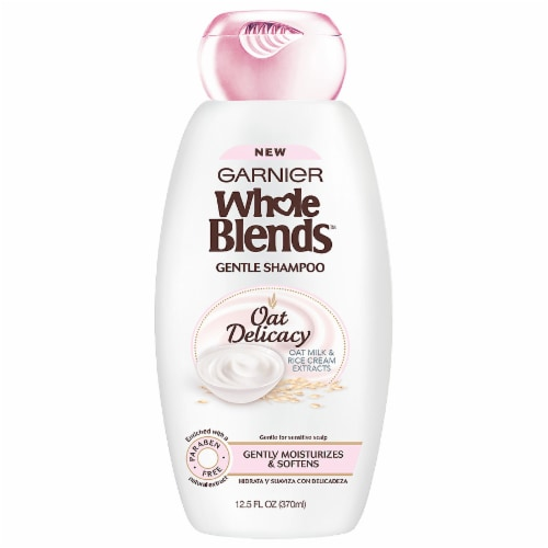 Garnier Whole Blends Oat Delicacy Gentle Shampoo Perspective: front
