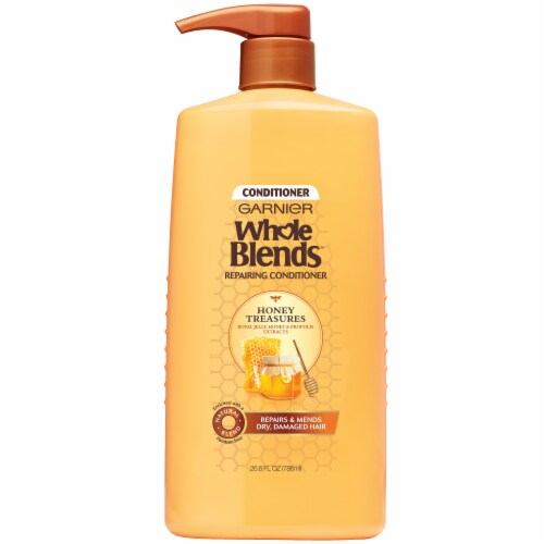 Garnier Whole Blends Honey Treasures Repairing Conditioner Perspective: front