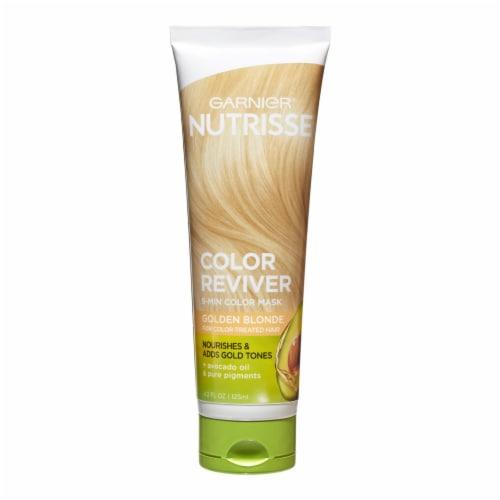Garnier Nutrisse Color Reviver Golden Blonde 5 Minute Color Mask Perspective: front