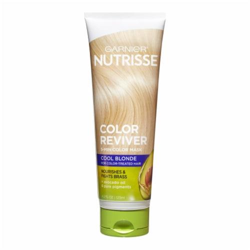 Garnier Nutrisse Color Reviver Cool Blonde 5 Minute Color Mask Perspective: front