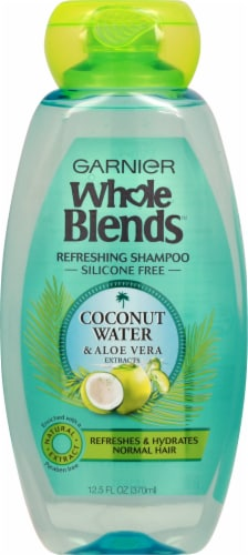 Garnier Whole Blends Coconut Water & Aloe Vera Shampoo Perspective: front