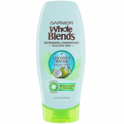 Garnier Whole Blends Coconut Water & Aloe Vera Conditioner Perspective: front