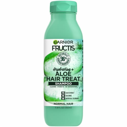 Garnier Fructis Hydrating Treat Aloe Extract Shampoo Perspective: front