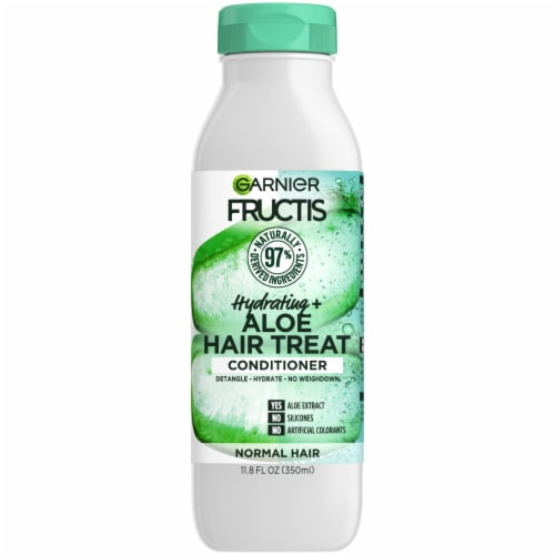 Garnier Fructis Hydrating Treat Aloe Extract Conditioner Perspective: front