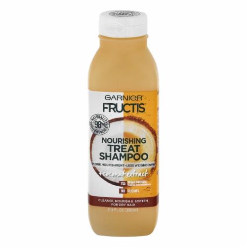 Garnier Fructis Coconut Extract Nourishing Treat Shampoo Perspective: front