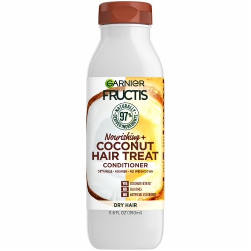 Garnier Fructis Coconut Extract Nourishing Treat Conditioner Perspective: front
