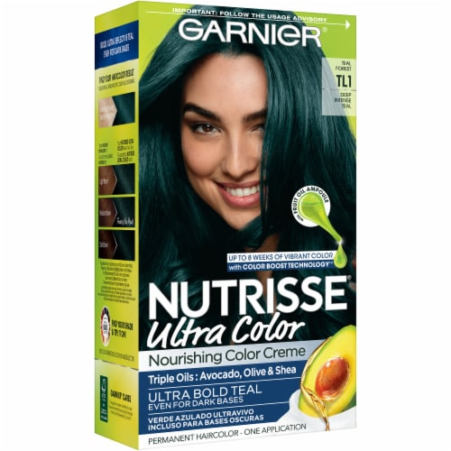 Garnier Nutrisse Ultra Color Teal Forest Hair Color Kit Perspective: front