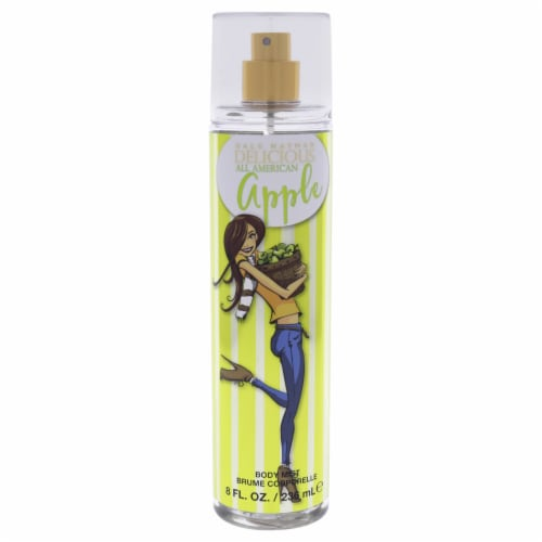 Gale Hayman Delicious All American Apple Body Mist 8 oz Perspective: front