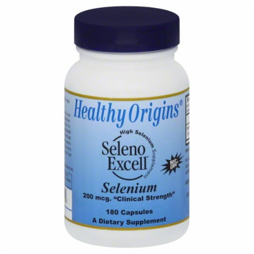 Healthy Origins Seleno Excell Selenium 2 Pack Perspective: front