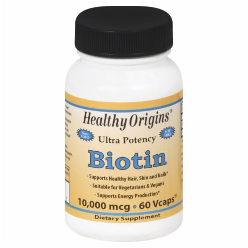 Healthy Origins Bitoin 10000 mcg Perspective: front