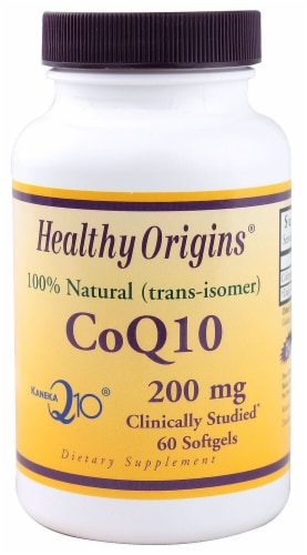 Healthy Origins  CoQ10 Perspective: front