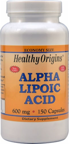 Healthy Origins  Alpha Lipoic Acid Perspective: front