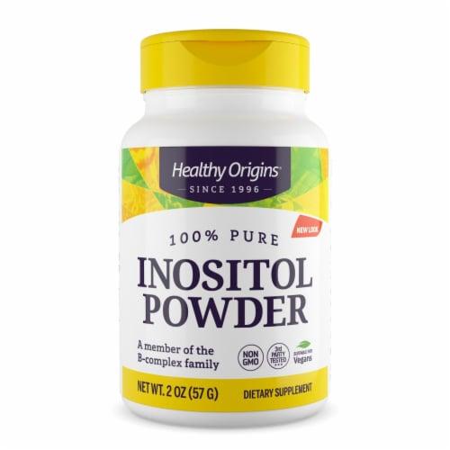Healthy Origins Inositol Powder - 2 oz Perspective: front