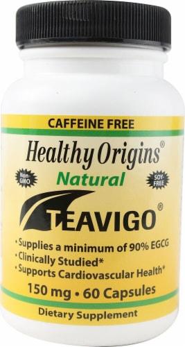 Healthy Origins Teavigo Capsules 150 mg Perspective: front