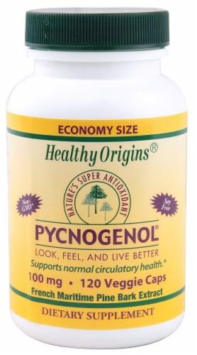 Healthy Origins Pycnogenol® 100 mg Perspective: front