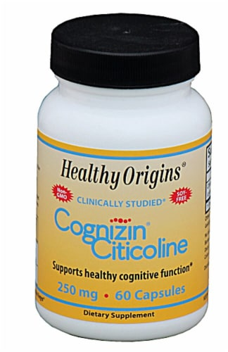 Healthy Origins  Cognizin® Citicoline Perspective: front