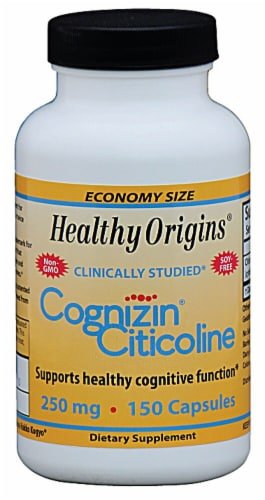 Healthy Origins  Cognizin® Citicoline Perspective: front
