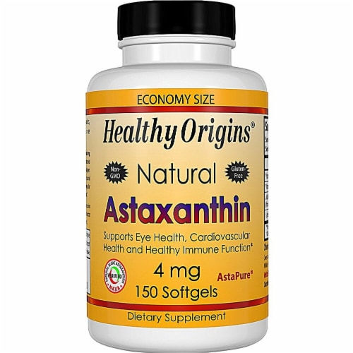 Healthy Origins  Astaxanthin Perspective: front