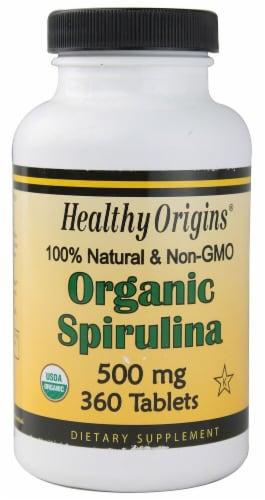 Healthy Origins  Organic Spirulina Perspective: front