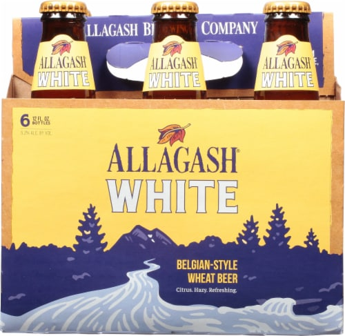 Allagash White Belgian-Style Wheat Beer Perspective: front