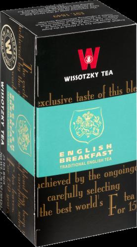 Wissotzky  English Breakfast Tea Perspective: front