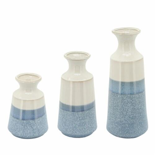 Cer, 12 H Vase, Sky Blue Perspective: front
