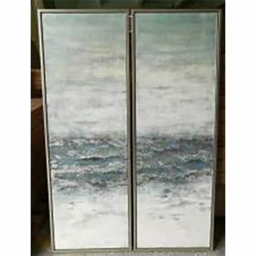 62X22, S/2, Oil Painting, Multi Perspective: front