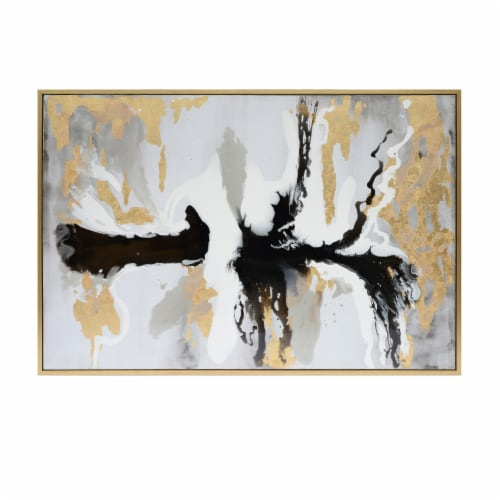 61X51, Abstract Oil Painting, Multi Perspective: front