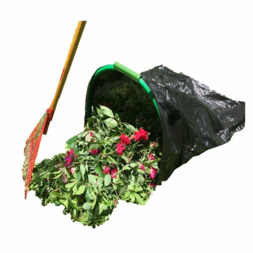 Leaf Gulp Leaf Bag Holder For Plastic Bags Perspective: front