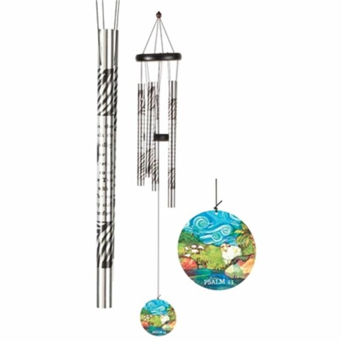 Dicksons WCA-104 23 Aluminum Psalm Windchimes Perspective: front