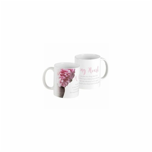 Dicksons MUG-1072 11 oz A Caring Heart Coffee Mug Perspective: front