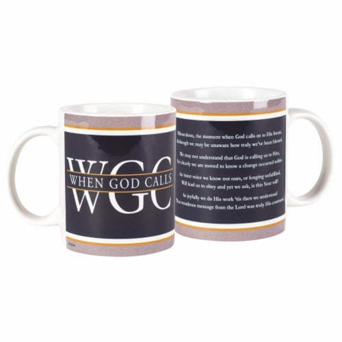 Dicksons MUG-1078 11 oz Ceramic Mug - When God Calls Perspective: front