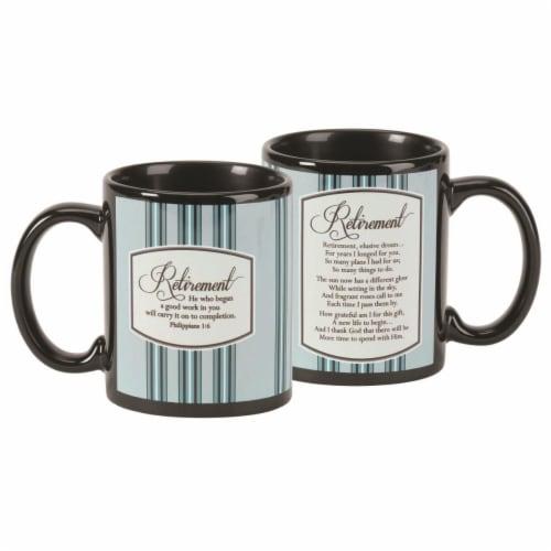 Dicksons MUG-1079 11 oz Retirement Philippians 1-6 Ceramic Mug Perspective: front