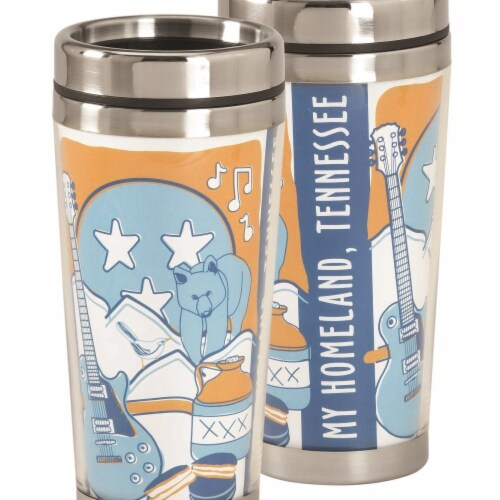 Dicksons SSMUG-264 16 oz Tennessee My Homeland Travel Mug Perspective: front