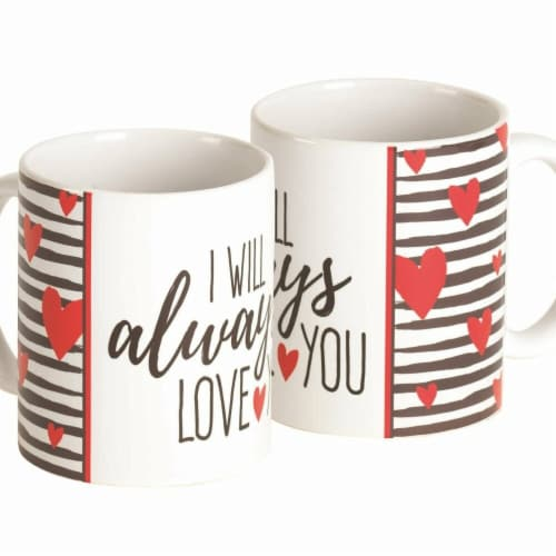 Dicksons MUG-1108 11 oz Mug I Will Always Love You Whtcrmic Perspective: front