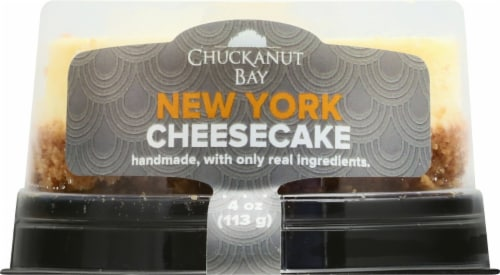 Chuckanut Bay New York Cheesecake Perspective: front