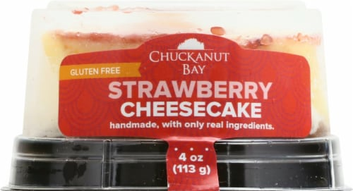 Chuckanut Bay Strawberry Cheesecake Perspective: front