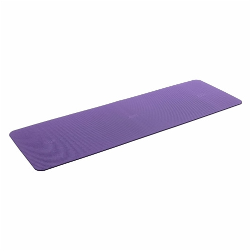 Airex Yoga/Pilates 190 Closed Cell Foam Fitness Mat for Home and Gym Use, Purple Perspective: front
