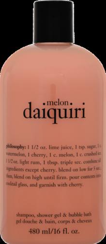 Philosophy Melon Daiquiri Shampoo Shower Gel & Bubble Bath Perspective: front